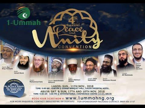 1Ummah Peace & Unity Convention 2018 Day 1 pt1