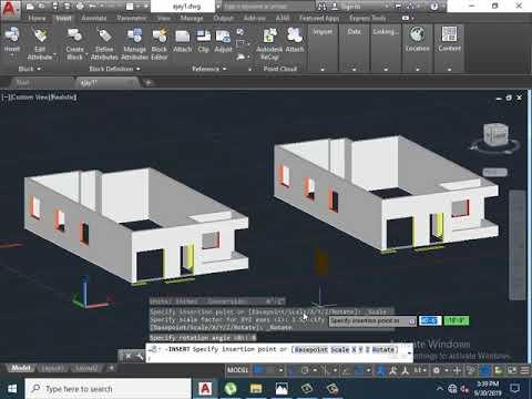 Autocad 3d Building | Autocad 2d To 3d | Autocad Rendering | Cad 3d Designing | 3d Civil Model