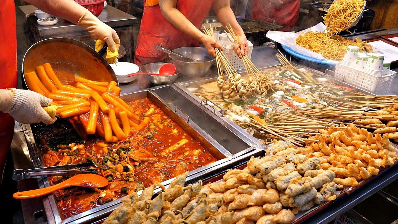 압도적인 스케일! 부산에서 대박난 떡볶이, 어묵, 튀김, 고구마 스틱, 분식맛집  / Amazing scale korean Tteokbokki / Korean street food