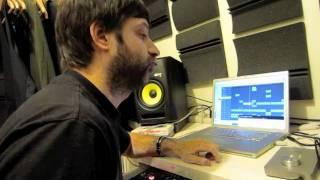 UFO! with Bro Safari files in the Studio...