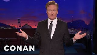 Conan: Trump Has Avoided All-Out War With North Korea & Melania  - CONAN on TBS