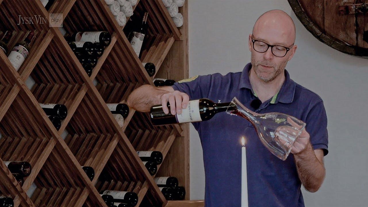 Sådan dekanterer du vin