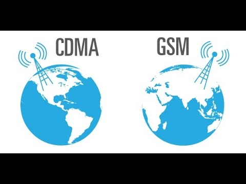 GSM vs CDMA:Different between CDMA and GSM - YouTube