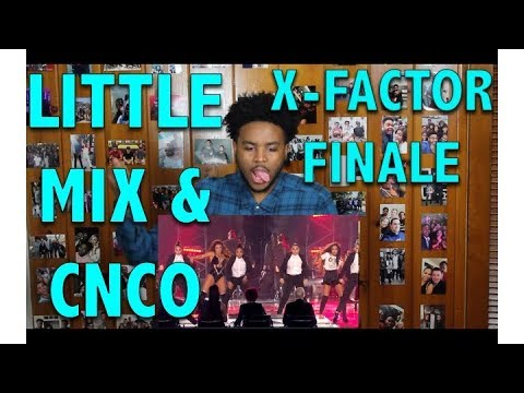 LITTLE MIX & CNCO ON XFACTOR- REACTIONREVIEW