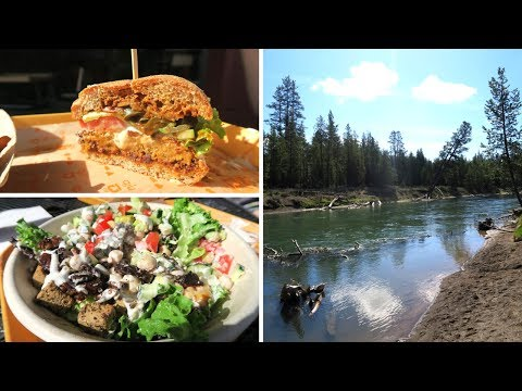 TRAVEL VLOG | VEGAN IN BEND, OREGON