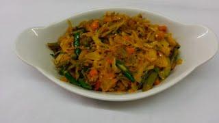 Vegetable Bhaji -indian Cooking - Pabda20