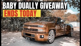 BABY DUALLY GIVEAWAY ENDS TODAY (BOUGHT A TURBO TRUCK)