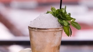 Mint Julep - NOT a Mojito with Bourbon - The Morgenthaler Method - Small Screen