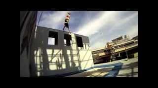 Новый вид спорта, батут стены.. New sport trampoline walls
