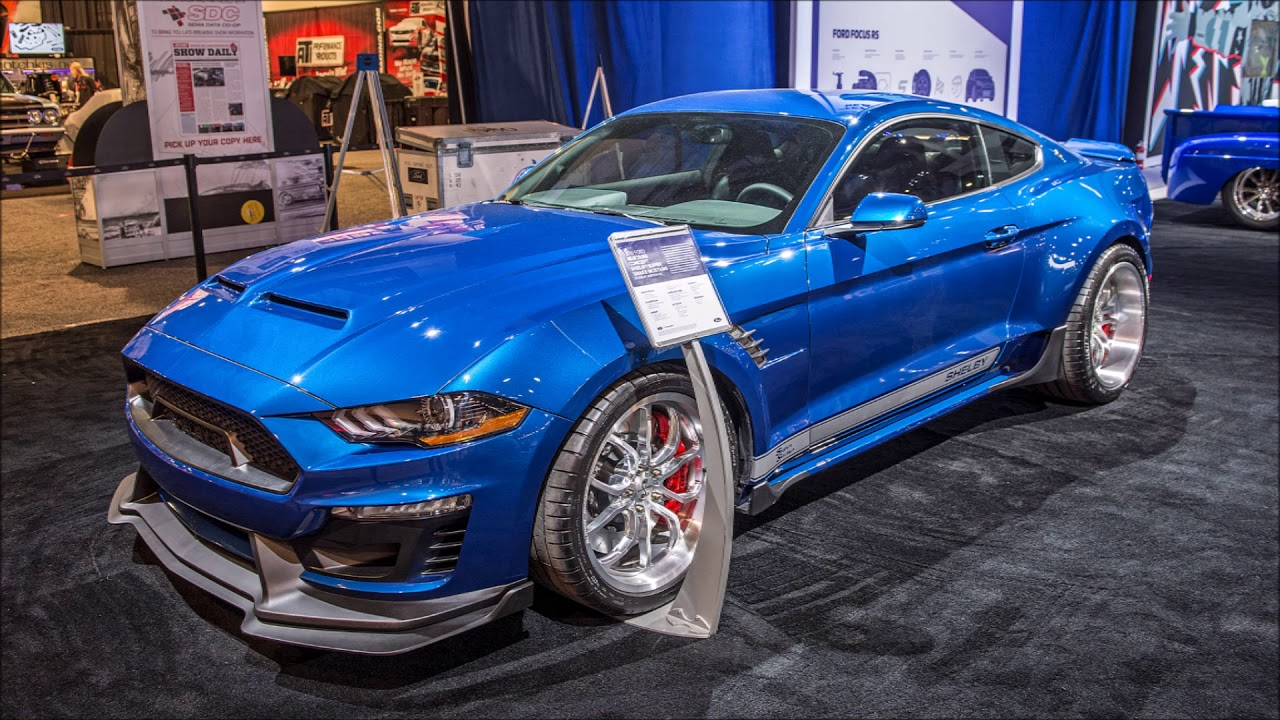 ford mustang shelby gt500 super snake widebody sema 2017 slideshow youtube. Black Bedroom Furniture Sets. Home Design Ideas