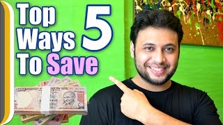 Top 5 ways to Save Money by Ur IndianConsumer [Hindi]