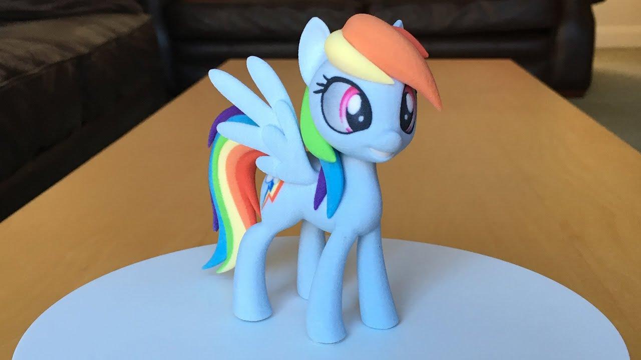 Rainbow Dash - 3D Turntable - YouTube