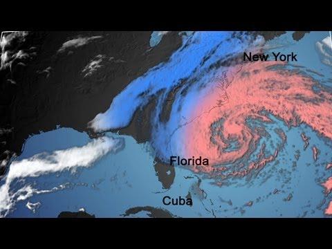The Birth of Hurricane Sandy
