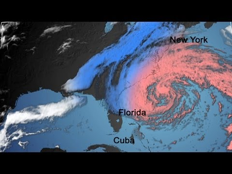 The Birth of Hurricane Sandy