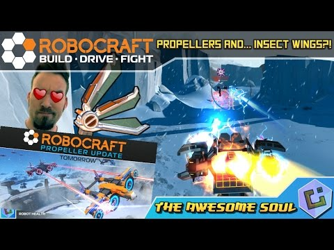 Robocraft - Propellers and... Insect Wings?! (EP 317)