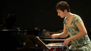 """""""Interface"""" for snare drum & piano - Erin Graham"""