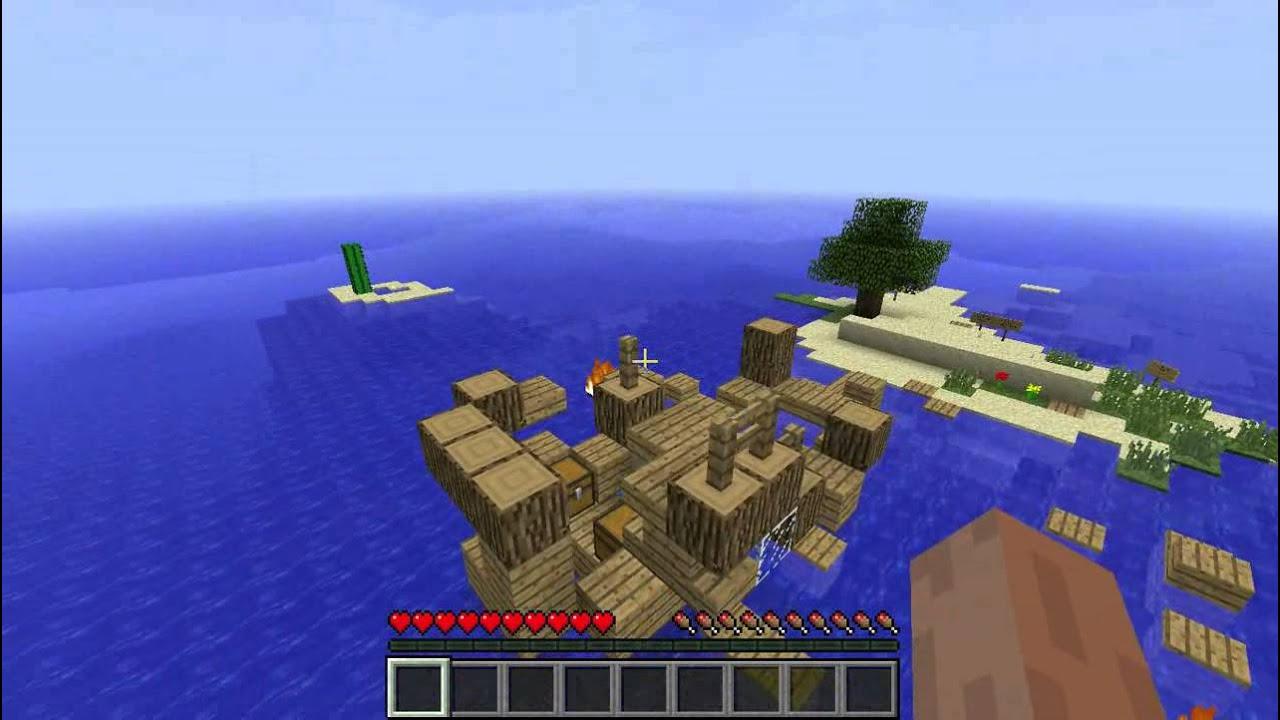 Minecraft Map Island Survival