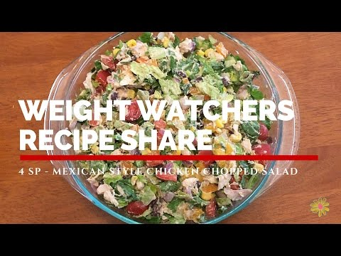 weight-watchers-recipe-share-|-mexican-style-chicken-chopped-salad-|-4-sp