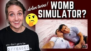 ObGyn Reacts to Womb Simulator | Dolan Twins