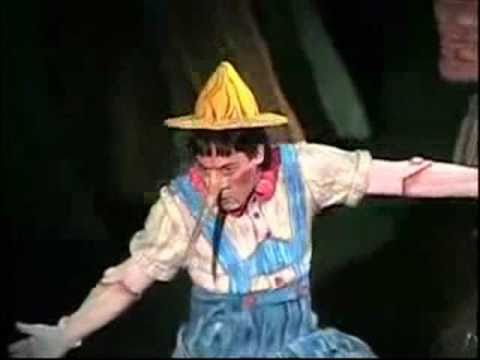 who plays pinocchio in shrek the musical