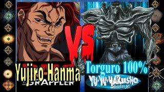 Yujiro Hanma (Baki the Grappler) vs Torguro 100% (Yu Yu Hakusho) - Ultimate Mugen Fight 2016
