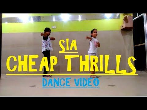 Little Kids Dancing On Cheap Thrills | MOTION DANCE ACADEMY | DANCE VIDEO