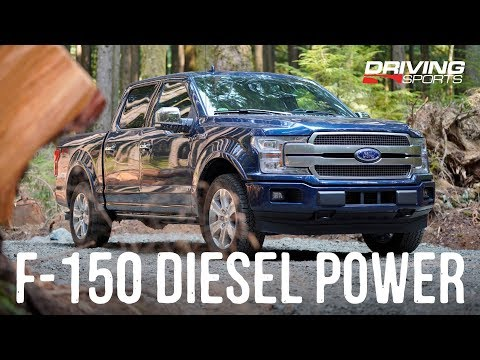 2018 Ford F-150 Diesel Review - Stump Pulling Power