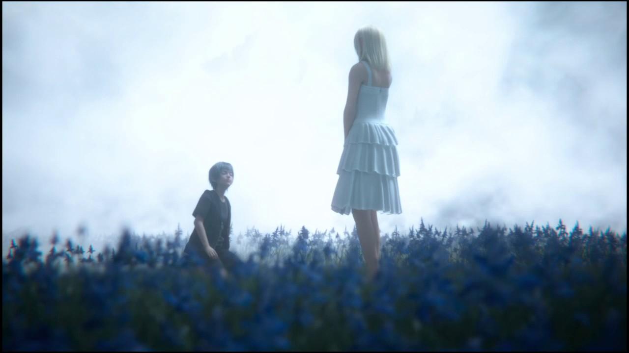 FINAL FANTASY XV - Luna and Ravus scene - YouTube