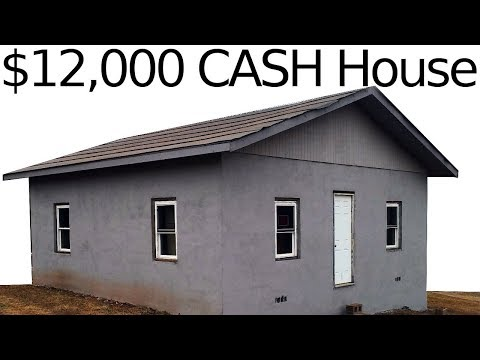 $12,000 CASH HOUSE - New Roof Pt. 1 - #23
