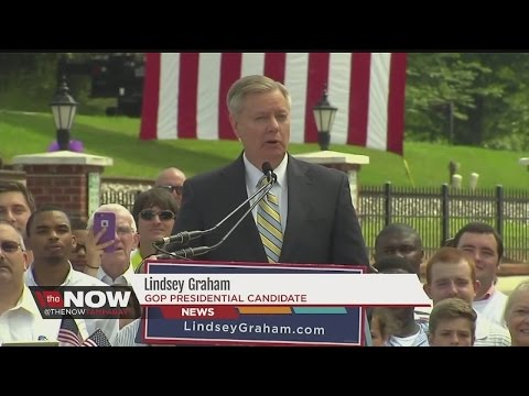 South Carolina Sen. Lindsey Graham launches 2016 bid
