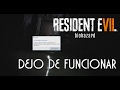 Resident Evil 7 Pc Fatal Application Exit mp3 Download free, Play online