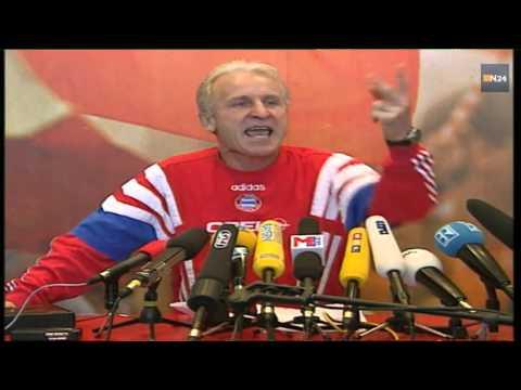 Legendäre Bayern München  wutrede Giovanni Trapattoni