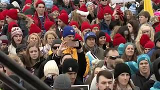 Trump speaks to activist at March for Life rally