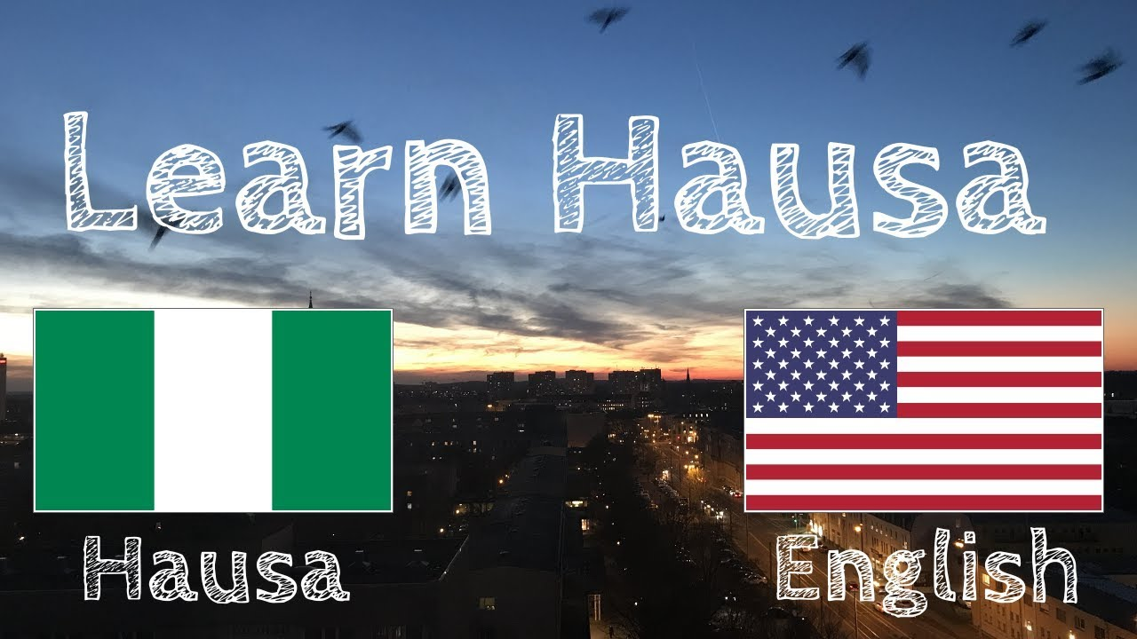Download Learn 8 hours Hausa - without music //
