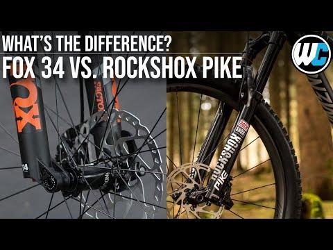 Fox 34 vs. Rockshox Pike - Fork Comparison