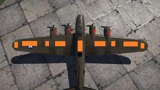 War Thunder Weakspots: B-17 Flying Fortress