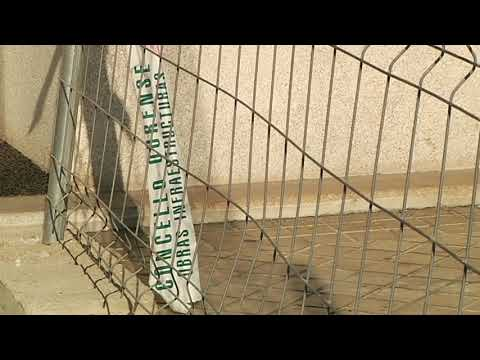La zona de vallas del Puente Romano sin solución 23 8 19