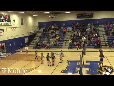 Festus Middle School Volleyball vs Hillsboro for Pam