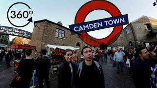 360° Camden Town, London