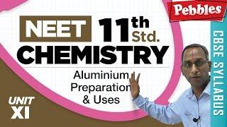 NEET 11th Std Chemistry || Aluminium Preparation & Uses || Boron Compounds || Unit-XI