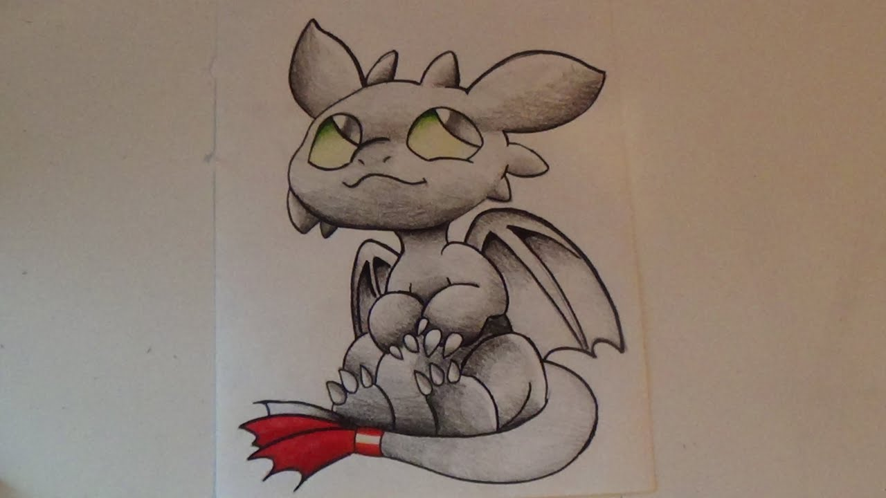 Toothless how to train your dragon speed drawing youtube toothless how to train your dragon speed drawing youtube ccuart Image collections