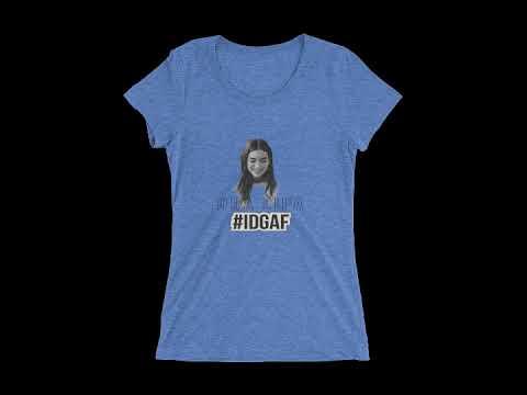 Dua Lipa - IDGAF short sleeve t shirt