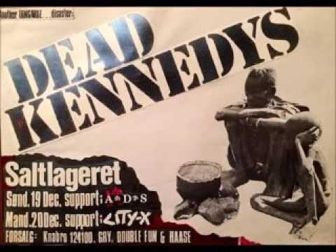 Dead Kennedys - Live @ Saltlageret, Copenhagen, Denmark, 12/19/82