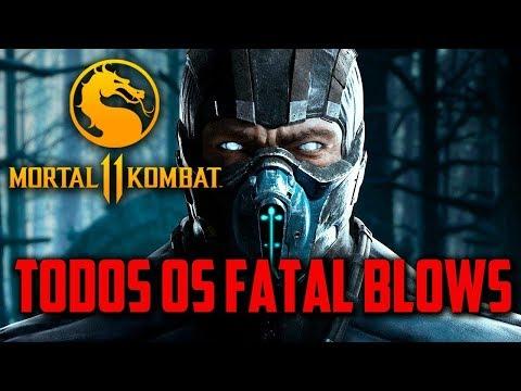 Mortal Kombat 11 - TODOS OS ESPECIAIS, Fatal Blows