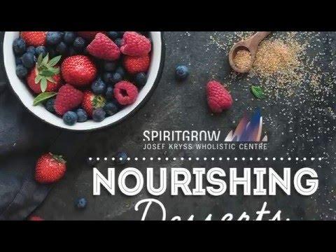 Nourishing Desserts WITH NUTRITIONIST IRINA GOLOMB - 30/03/2016