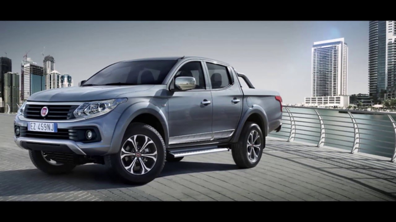 new fiat fullback pick up unveiled at 2016 getting there silent partner youtube. Black Bedroom Furniture Sets. Home Design Ideas