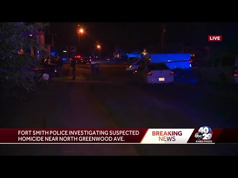 Maverick - Police investigating homicide last night in Fort Smith
