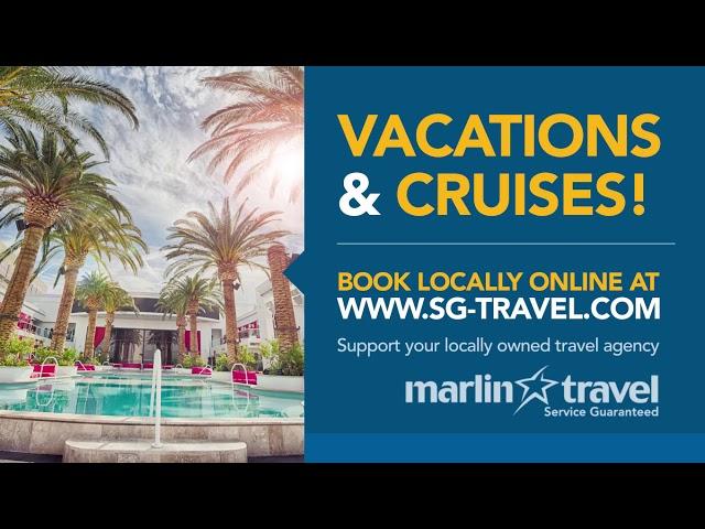 Creative Display - Marlin Travel