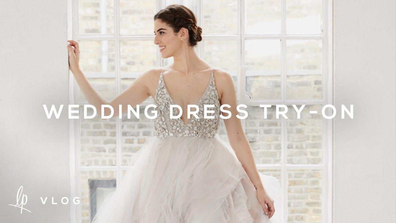 Wedding Dress Try On Lily Pebbles Vlog