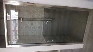 Дверь в нишу, IMPRESE RUMBA IMLBZ-90X(Imprese RUMBA Дверь в нишу 90*190 см, хром, стекло прозрачное, IMPRESE IMLBZ-90X http://www.imprese-shop.com.ua., 2014-07-16T14:26:24.000Z)